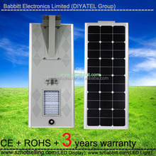 solar photovoltaic / BT-050B 50W Solar Street Light