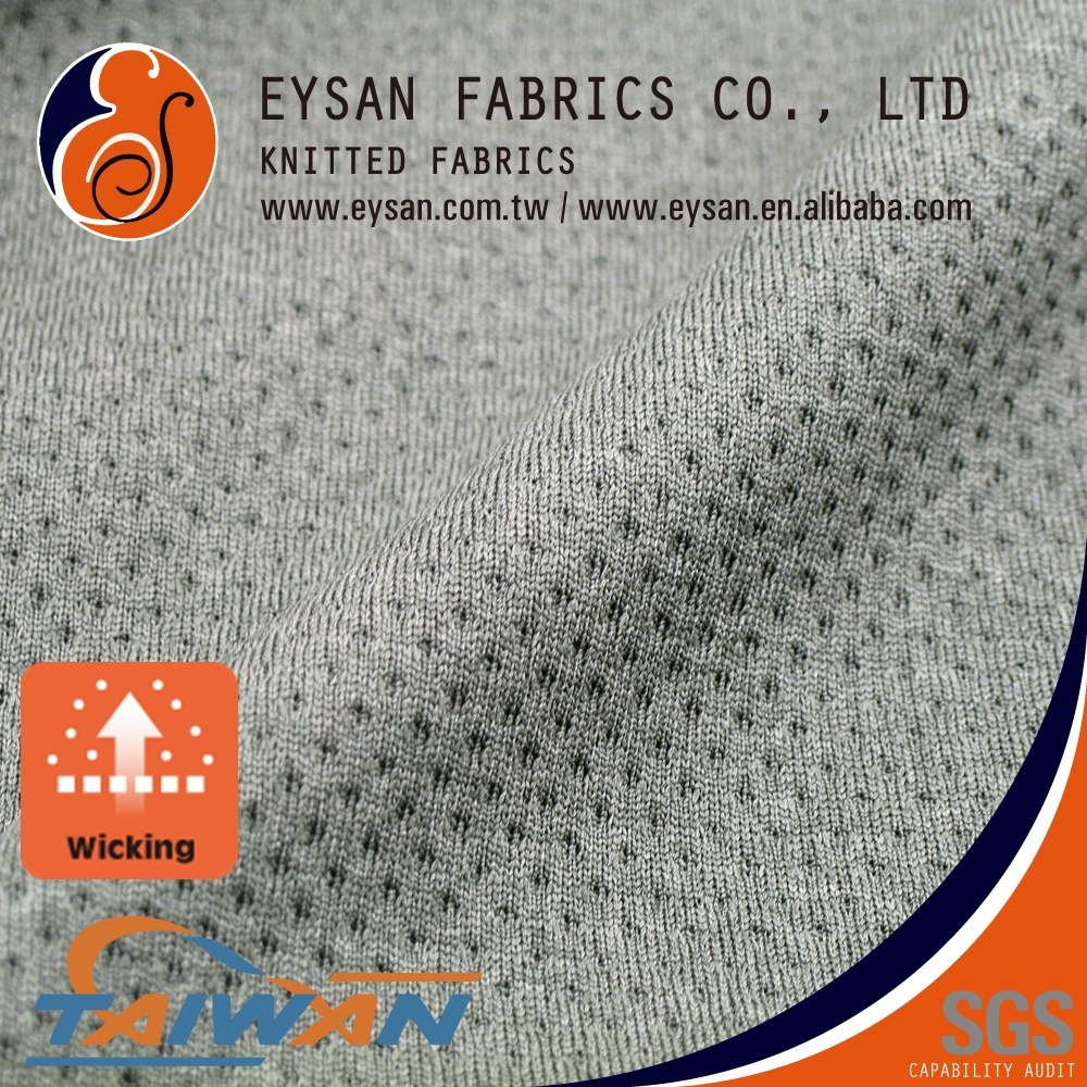 EYSAN Not see through 100%Polyester Mesh Fabric for Sport Short