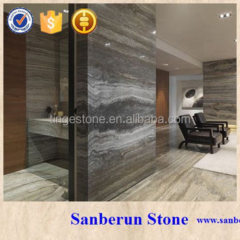 Hot and natural Italian sliver and grey Travertine tile