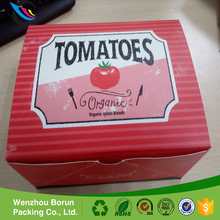 2017 Factory price custom disposable recyclable paper food packaging box for hamburger