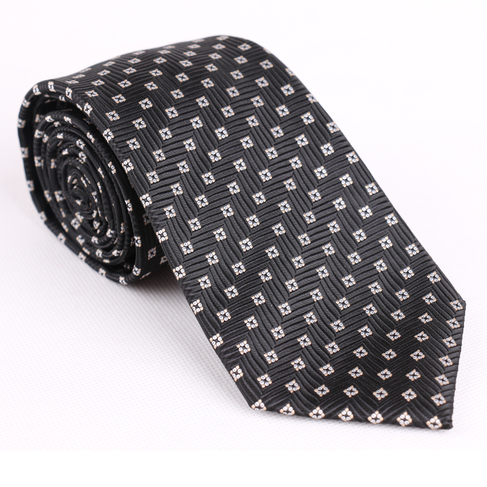 Fashion 100% polyester fabric casual men necktie printed floral tie