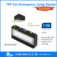 TPF 12v car compact jump starter battery booster for car motorcycle