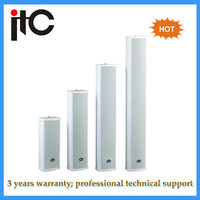 Weatherproof loudspeaker outdoor pa system column speakers