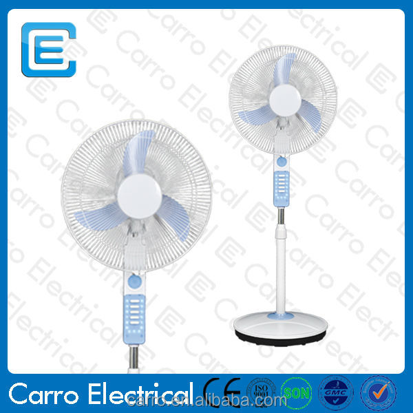 Rechargeable 12v dc cooling fan motor with led