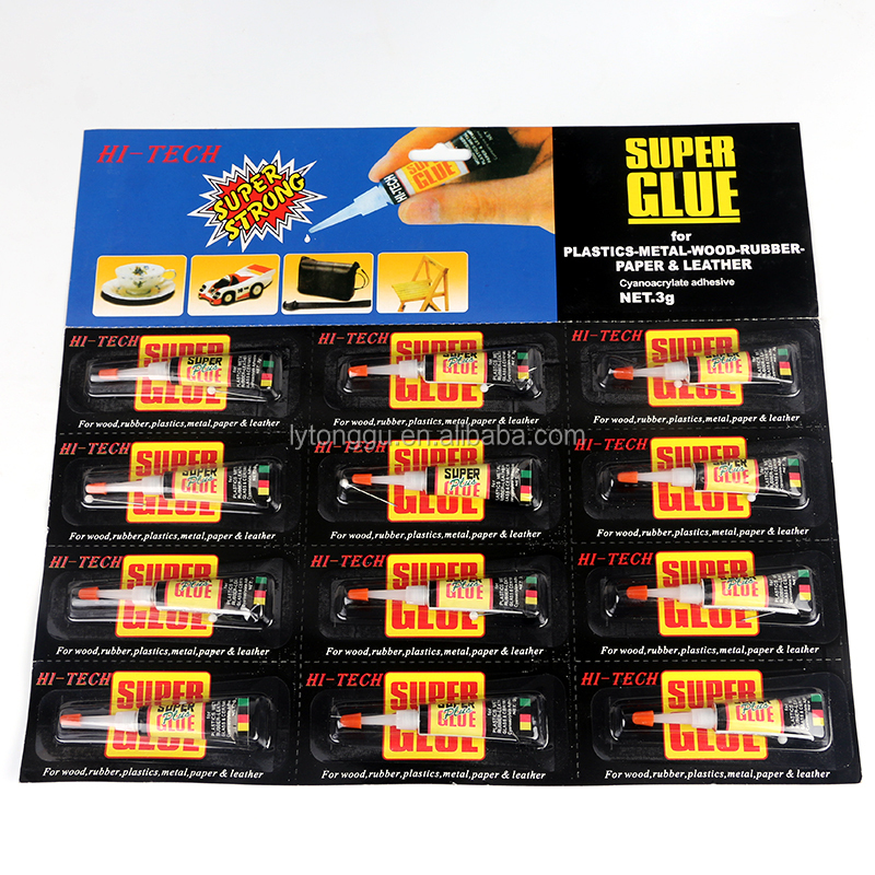 super plus glue cyanoacrylate adhesive 502 glue for paper leather rubber glass wood