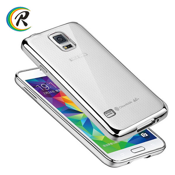 mobile phone s5 cover for Galaxy S4 S5 cheap mobile phone cases plating bumper