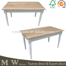 wholesale simple design in wood dining table