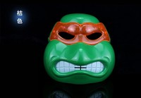 WH-051 Yiwu Caddy Teenage High Quality Halloween party fancy dress hero mask LED Ninja Turtle mask
