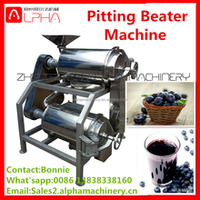 Stainless Steel Factory directly sale double channel automatic grape juicer mango destoner and pulper