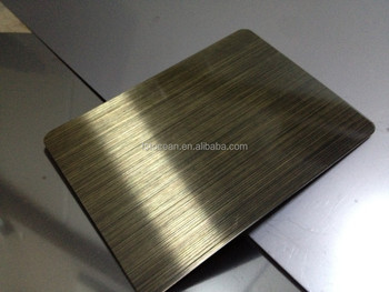 ss304 stainless steel hairline sheet with cheap price