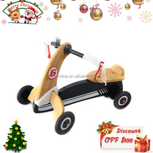 2-in-1 Wooden Baby Tricycle and Bike for Kids Balance Training TH0415