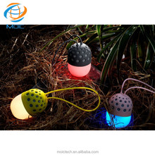 2017 Latest Craze Technology Products In Waterproof BT Speaker With IPX4 3W And LED Light Support