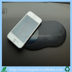 Promotion gift pu sticky mat for car dashboard