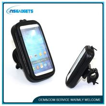 Bicycle phone waterproof bracket ,h0tga fancy cell phone cover case for samsung s4 , touch phone bag