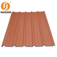 Insulation Soundproof PVC / UPVC Corrugated Roofing Sheets