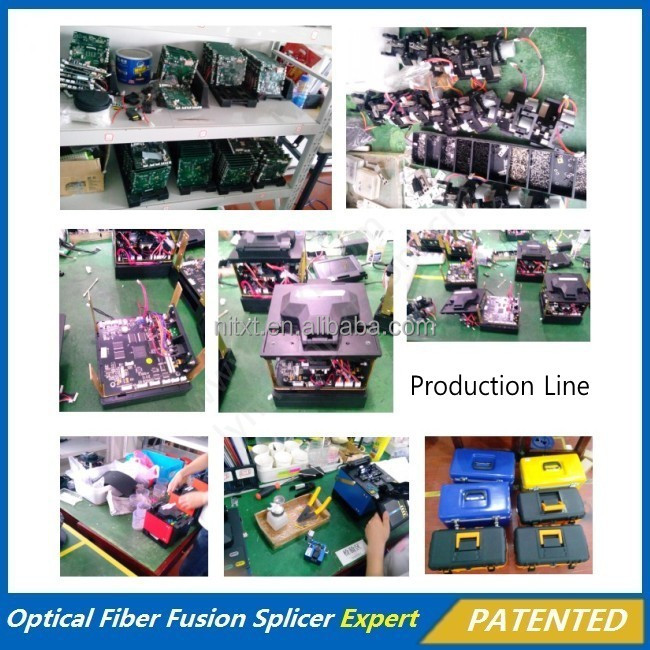 Low Price Of Easy Operating Optical Fiber Optic Fusion Splicer for CATV telecom