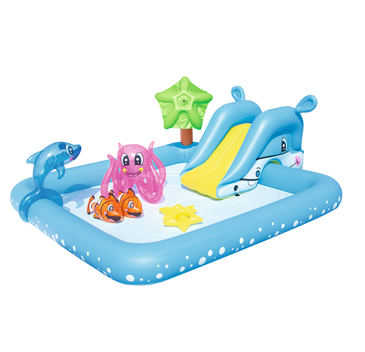 Bestway Fantastic Aquarium Play Pool Children's amusement park center Kids Paddling pool wadding pool