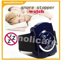 2015 new Drug Free bed Sleep Watch style sleep apnea aid Snore Stop