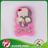 Fashionable cheap custom eco-friendly silicone phone case