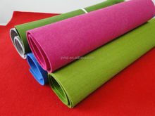 felt fabrics custom, polyester anti-static felt rolls for pets pad