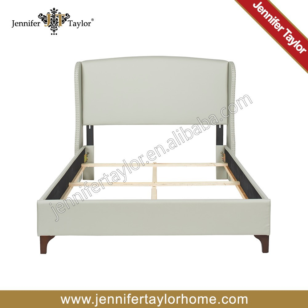 Bed room furniture latest wooden double bed designs