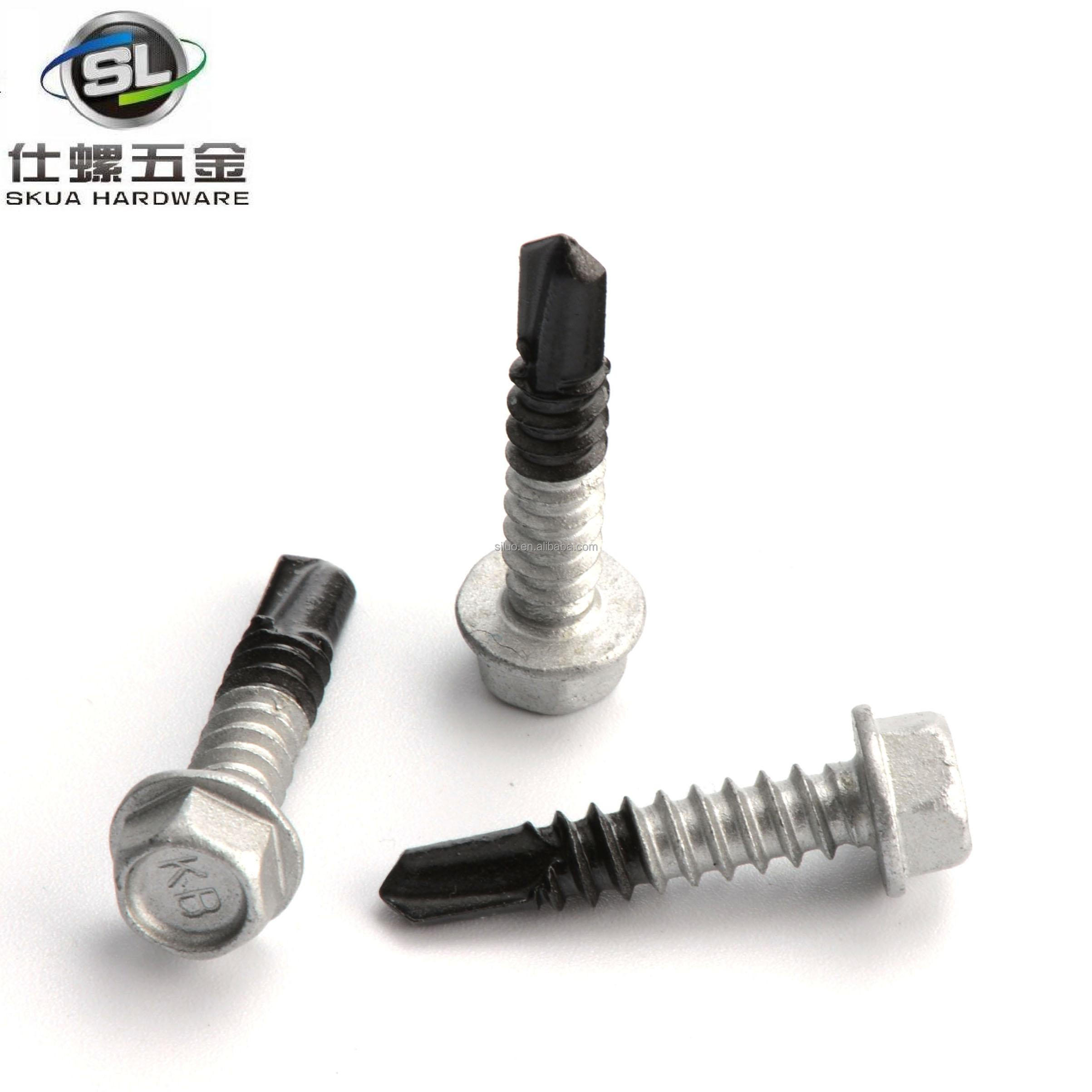 China manufacturer self drilling screws making machine with a long life