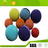 offer different color and size sponge rubber dog pet promorional bouncing stocked sports toy ball