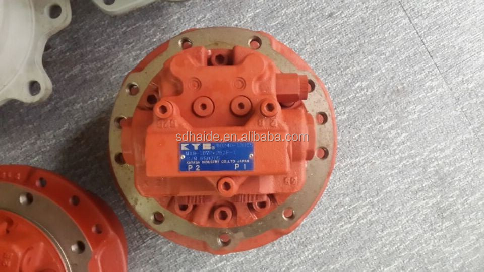 Excavator KYB MAG-26vp final drive assy MAG-26VP travel motor Kayaba Final drive