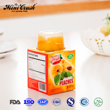 New Products Fresh Fruit Canned Yellow Peach in Plastic Cup