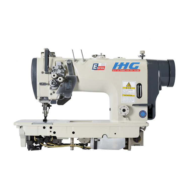 Excellent Quality High-Speed 2 Needle Lockstitch Industrial Sewing Machine For Light Material 8452
