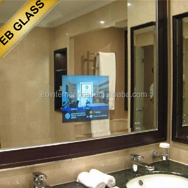 Fashionable Tv Mirror Wall Advertising Magic Mirror Hide Mount