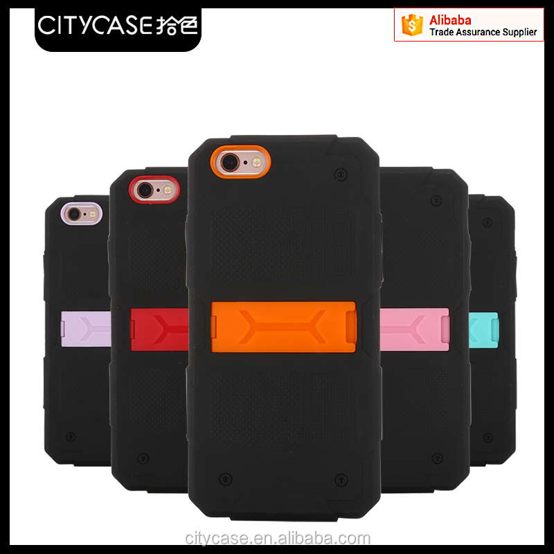 city&case newly arrive antidrop combo phone Case for iPhone 5s/se