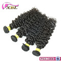 XBL wholesale price virgin peruvian hair full cuticle naturally curly