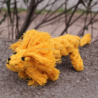 Wholesale Lovely Lion shape Pet Toys Pet Cotton Toy PT109
