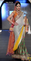 classy and trendy saree bridal dress BE-M136
