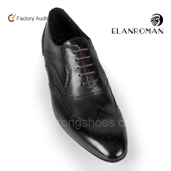Italian fashion business men genuine leather shoes Brogue shoes