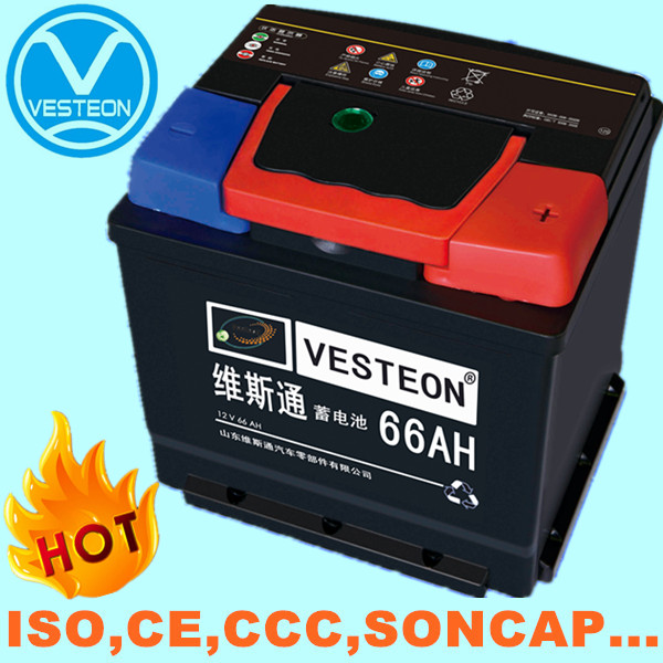 12v good price car battery MF and DRY