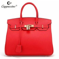 Fashion bag 2015 women leather handbag