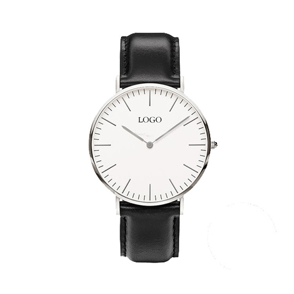 Custom logo make wholesale real leather strap women watch,hot sell D watch for men