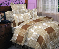 Wholesale high quality quit cover/bedding set fabric from Changxing Huzhou
