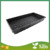 Hot Sale Good Quality PS Material 54*28 cm Black Plastic Flat Tray With Lid For Sale