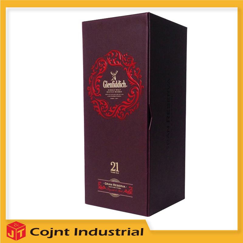 chinese cheap custom practical art paper 3 litre wine box