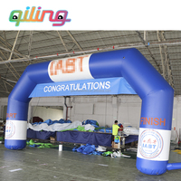 Customizable logo giant inflatable entrance finish /start line advertising arch,inflatable finish arch for sale