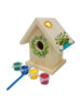 TJ MARK FUNNY PAINT YOUR OWN DIY KIDS TOY WOODEN BIRD HOUSE