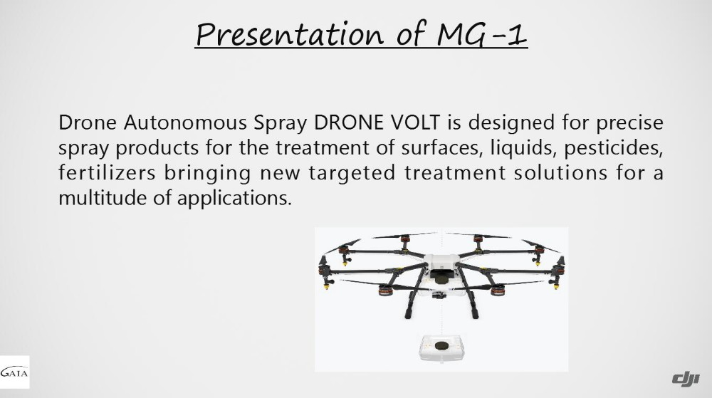 Agricultural UAV Crop Sprayer MG-1