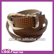 Guangzhou Neswest StyleWholesale Fashion Ball Grain Leather Belts for Women