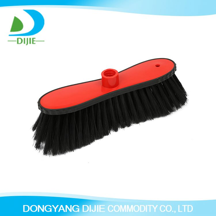 Top sale trendy style environmental material house cleaning big angle plastic broom