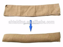 5ft/11ft x20cm Door step jute gunny flood sand bag with inflatable powder inside
