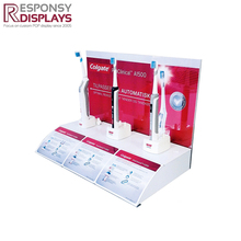 New style attractive counter acrylic toothbrush display stand