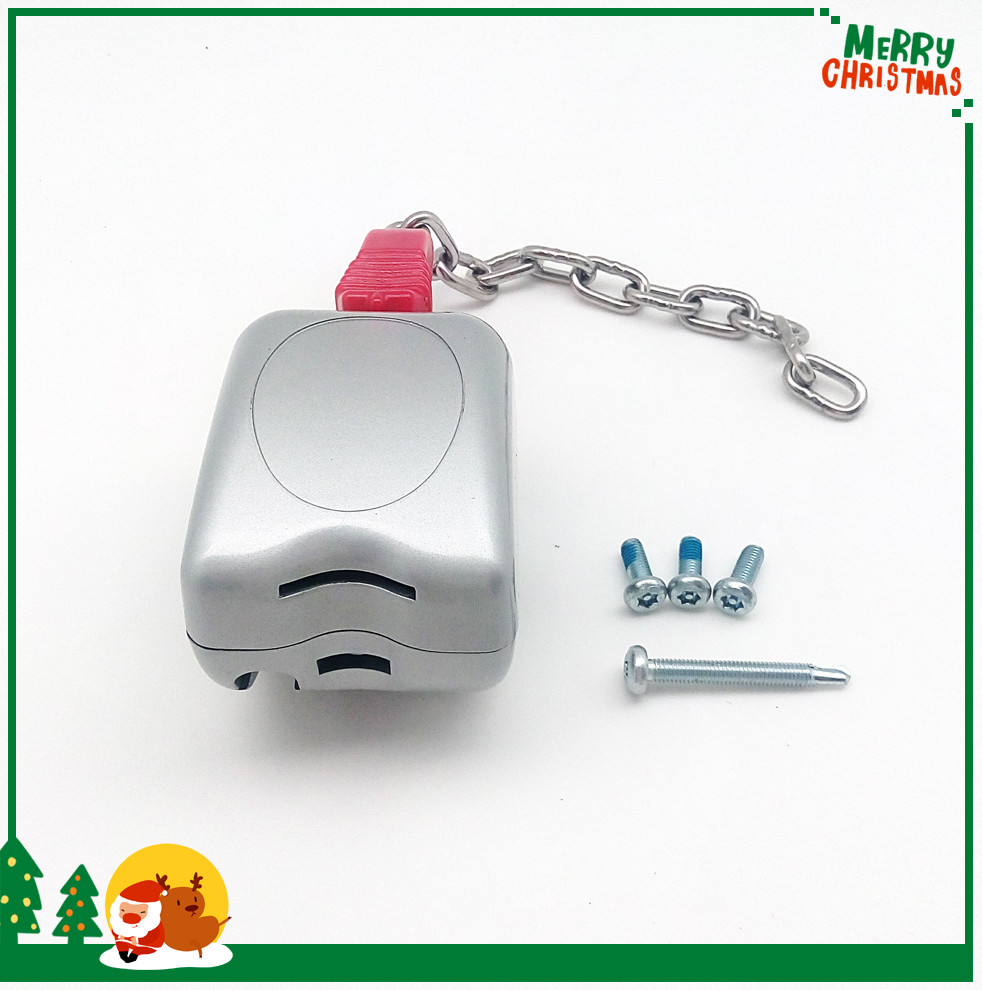 Supermarket shopping trolley coin lock, Zinc alloy material shopping cart coin lock, coin operated lock for shop cart